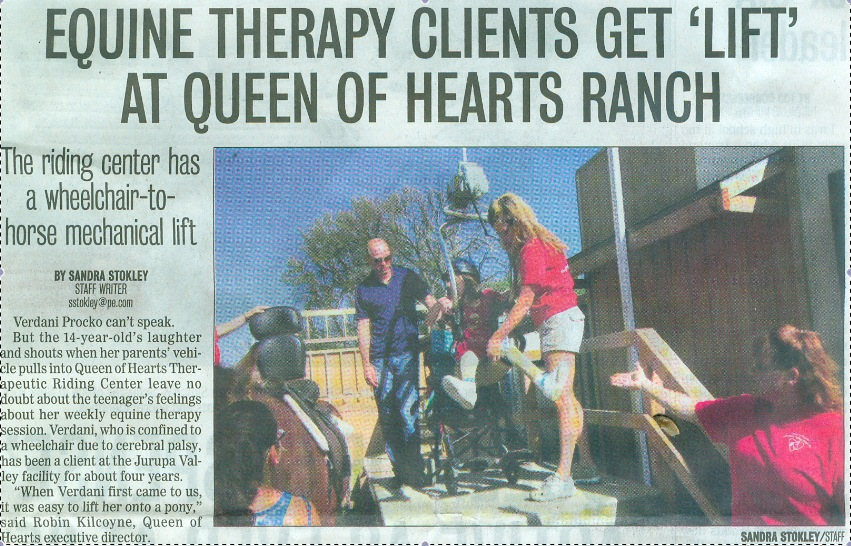 Calendar & News | Queen of Hearts Therapeutic Ranch