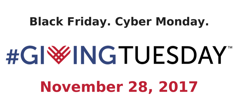 Giving Tuesday November 28, 2017